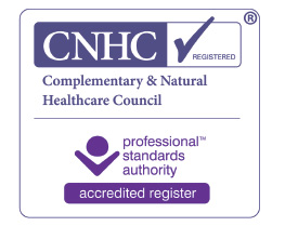 Complementary and Natural Healthcare Council registered for hypnotherapy